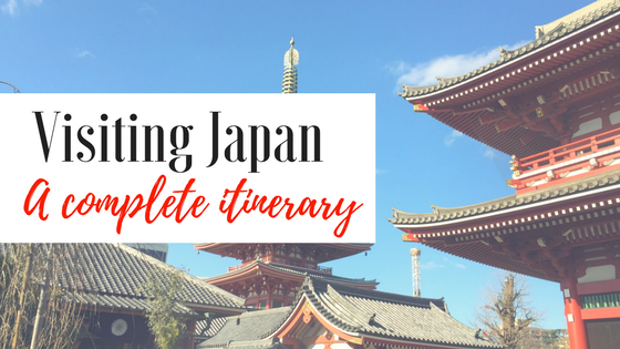 Japan a complete itinerary